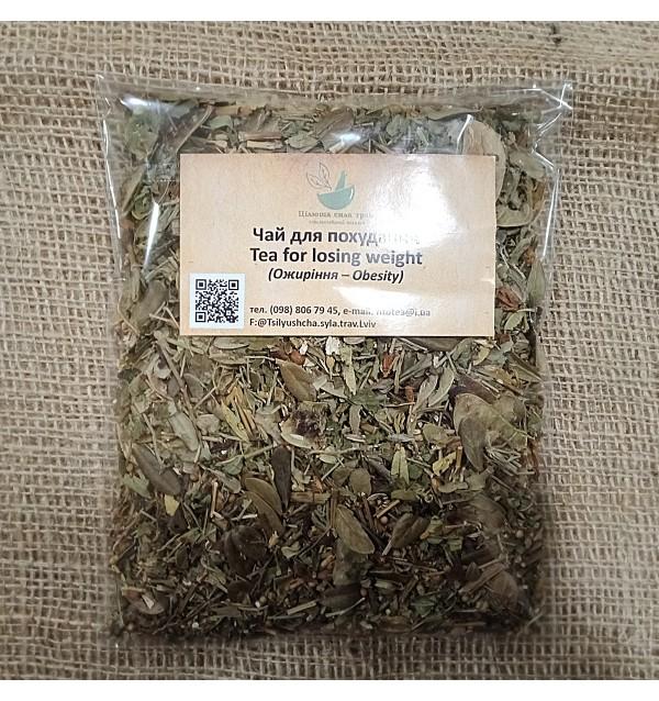 Трав'яна суміш, Чай для похудання, трав'яний, Цілюща сила трав, розсипний,80г
