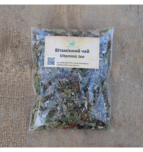 Трав'яна суміш, Вітамінний чай, трав'яний, Цілюща сила трав, розсипний,80г