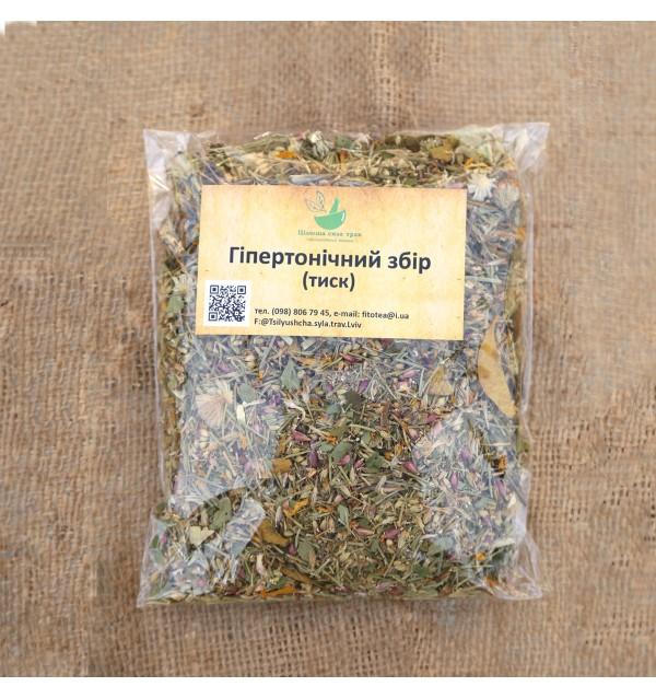 Трав'яна суміш, Гіпертонічий чай, трав'яний, Цілюща сила трав, розсипний,70г